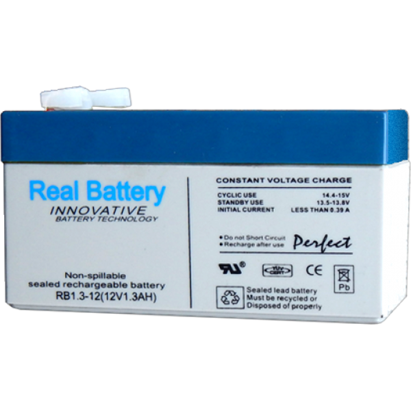 ΜΠΑΤΑΡΙΑ REAL BATTERY 12v 2,3Ah